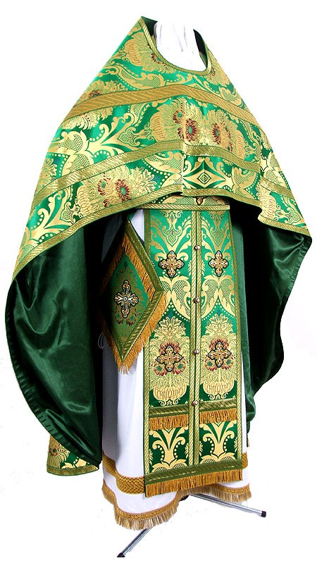 "Russian priest vestments 39-40""/5'10"" (48-50/178) #148"