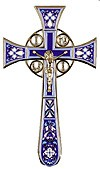 Blessing cross no.4-1 (violet)