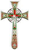Blessing cross no.4-1 (red-green)