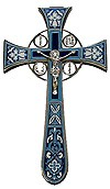 Blessing cross no.4-1 (dark-blue)