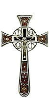 Blessing cross no.4-1 (brown)