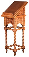 Church lecterns: Bary carved lectern