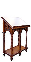 Church lecterns: Greek double carved lectern