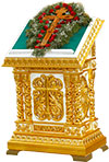 Church lecterns: Tabor double carved lectern
