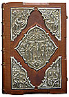 Orthodox service Gospel book in jewelry cover no.1