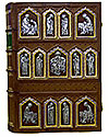 Orthodox service Gospel book in jewelry cover no.22