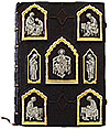 Orthodox service Gospel book in jewelry cover no.26