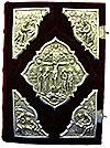 Orthodox service Gospel book in jewelry cover no.37