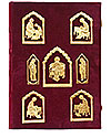 Orthodox service Gospel book in jewelry cover no.52