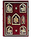 Orthodox service Gospel book in jewelry cover no.57