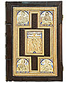Orthodox service Gospel book in jewelry cover no.58