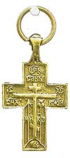 Baptismal cross no.21