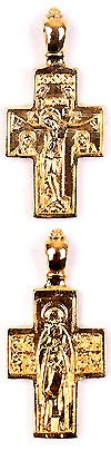 Baptismal cross no.109