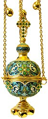 Censer - 27 (green enamel)