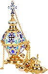 Bishop hexagon censer (enamel)