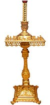 Church floor candle stand - 9 (40 candles)