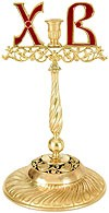 Paschal candle stand