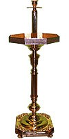 Church sand floor candle-stand no.2