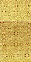 Listok metallic brocade (yellow/gold)