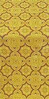 Yaroslavl metallic brocade (claret/gold)