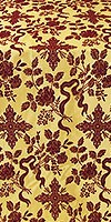 Velvet Rose metallic brocade (claret/gold)