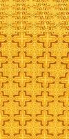 Custodian metallic brocade (yellow/gold)