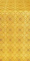 Zlatoust silk (rayon brocade) (yellow/gold)