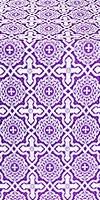Zlatoust silk (rayon brocade) (violet/silver)