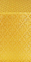 Solovki metallic brocade (yellow/gold)