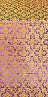 Solovki metallic brocade (violet/gold)