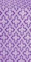Solovki metallic brocade (violet/silver)