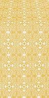 Nicea silk (rayon brocade) (white/gold)