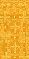 Iveron silk (rayon brocade) (yellow/gold)