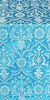 Prestol metallic brocade (blue/silver)