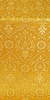 Prestol silk (rayon brocade) (yellow/gold)