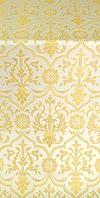 Prestol metallic brocade (white/gold)