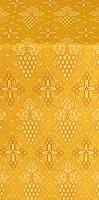 Vine silk (rayon brocade) (yellow/gold)
