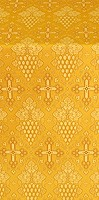 Vine metallic brocade (yellow/gold)