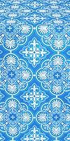 Pskov metallic brocade (blue/silver)