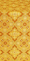Pskov silk (rayon brocade) (yellow/gold)
