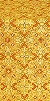 Pskov metallic brocade (yellow/gold)