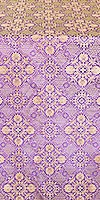Pskov metallic brocade (violet/gold)