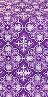 Pskov metallic brocade (violet/silver)