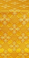 Podolsk silk (rayon brocade) (yellow/gold)