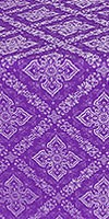 Simeonov silk (rayon brocade) (violet/silver)