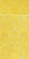 Neva Lavra silk (rayon brocade) (yellow/gold)