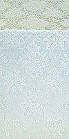 Pavlov Bouquet metallic brocade (white/silver)