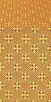 Stone Flower metallic brocade (claret/gold)