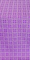 Stone Flower silk (rayon brocade) (violet/silver)
