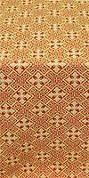 Stone Flower metallic brocade (red/gold)